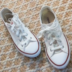 Converse All Star White Youth Sneakers